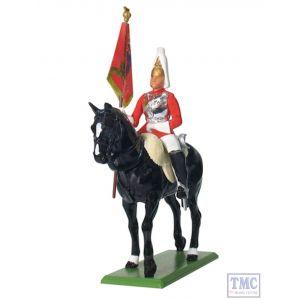 B41076 W.Britain Life Guard Standard Bearer Ceremonial
