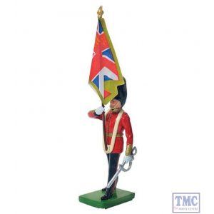 B43051 W.Britain Scots Guard Colour Bearer Regimental Colour Ceremonial Collection