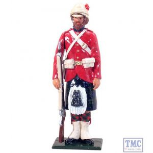 B44027 W.Britain Highlander 42nd (Black Watch) Highlanders 1882 Redcoats Collection