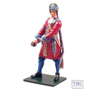 B44030 W.Britain Grenadier Officer 1st Foot Guards 1685 Redcoats Collection