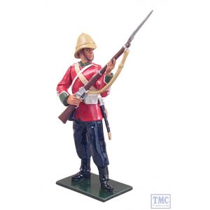 B44041 W.Britain Private 24th Foot at the Ready Redcoats Collection