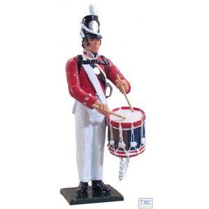 B46003 W.Britain Drummer, U.S. Infantry, 1813-1821