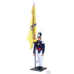 B46004 W.Britain Color Sergeant, U.S. Infantry, 1813-1821