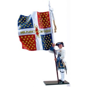 B47043 W.Britain Compagnies Franches de la Marine Color 1754-1760 Redcoats & Bluecoats Collection