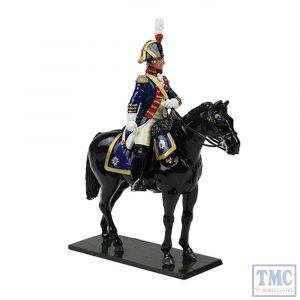 B47057 W.Britain British Horse Guards (Blues) Officer 1795 Regiments