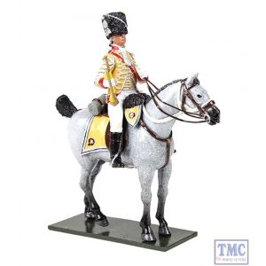 B47059 W.Britain British 10th Light Dragoons Trumpeter 1795 Regiments Classic Collection