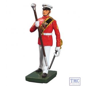 B48507 W.Britain United States Marine Corps Commandant's Own Drum Major Ceremonial Collection