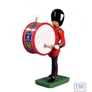 B48527 W.Britain Grenadier Guards Bass Drummer Ceremonial Collection