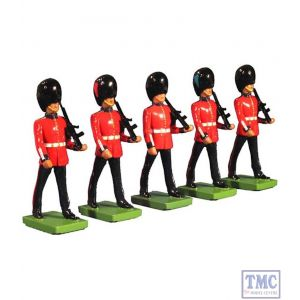 B48530 W.Britain The Guards Boxed Set 5 Piece Set Ceremonial Collection