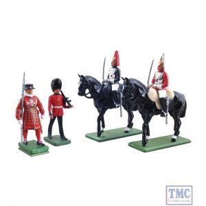 B48531 W.Britain London Gift Set 4 Piece Set Ceremonial Collection