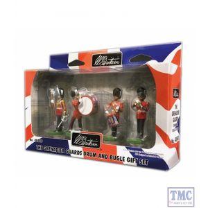 B48540 W.Britain Grenadier Guards Drum & Bugle Gift Set