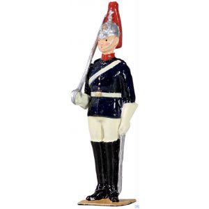 B49024 W.Britain British Blues and Royals Trooper on Foot Archive Collection