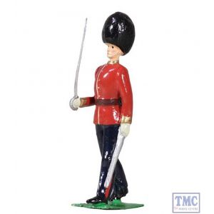 B49036 W.Britain British Scots Guards Officer Marching Archive Collection