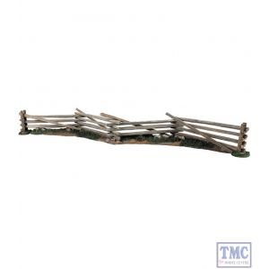 B51021 W.Britain 18th/19th Century Wooden Snake Rail Fence 7 Piece Set Tactical Scenes Collection