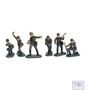 B52007 W.Britain WWII German Infantry Set 1 Super Deetail Plastics
