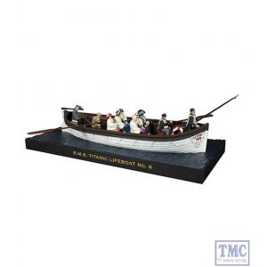 B62001 W.Britain RMS Titanic Lifeboat 6 Commemorative 20 Piece Set Titanic Collection