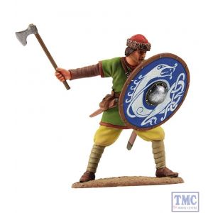 B62105 W.Britain Viking Shield Wall Defender 2 Wrath of the Northmen Collection