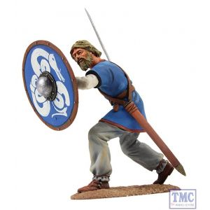 B62106 W.Britain Viking Shield Wall Defender 3 Wrath of the Northmen Collection