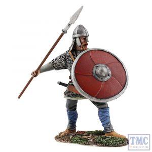 B62110 W.Britain Saxon Warrior Shield Wall Defender _2 Wrath of the Northmen
