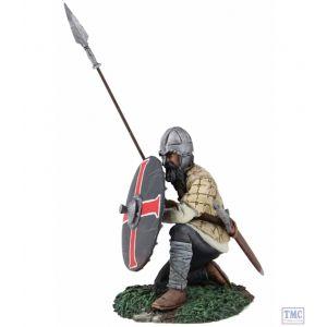 B62112 W.Britain Saxon Shield Wall Defender No. 4 (Daegal) - Wrath of the Northmen