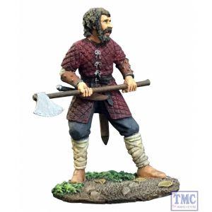 B62117 W.Britain Saxon/Viking Warrior with Axe (Carl) - Wrath of the Northmen