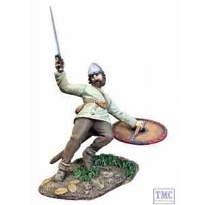 B62118 W.Britain Saxon Casualty Falling No.1 (Leofric) - Wrath of the Northmen
