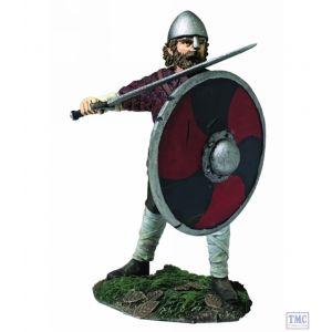 B62120 W.Britain Saxon Pushing with Shield (Hereward) - Wrath of the Northmen