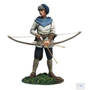 B62123 W.Britain Saxon Archer No.1 Arrow Nocked (Recene) Wrath of the Northmen