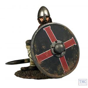B62124 W.Britain Saxon Shield Wall Defender (Seaver) Wrath of the Northmen