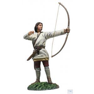 B62128 W.Britain Saxon Archer No.2 Arrow Loosed (Osfirth) Wrath of the Northmen