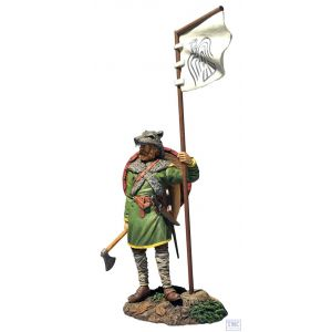B62131 W.Britain Viking with Ravon Banner (Arnlaug) Wrath of the Northmen