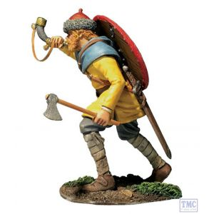 B62132 W.Britain Viking Advancing Blowing Horn (Arnljot) Wrath of the Northmen