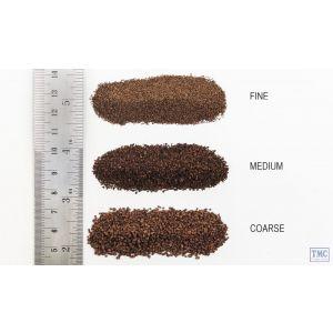 B78 Woodland Scenics Dark Brown Medium Ballast (Bag)