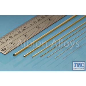 BW05 Albion Alloys Brass Rod 0.5 mm 10 Pack