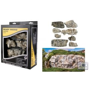 C1137 Woodland Scenics Faceted Ready Rocks