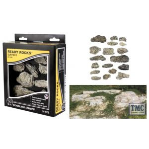 C1140 Woodland Scenics Surface Ready Rocks