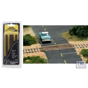 C1147 Woodland Scenics OO Gauge Wood Plank Grade Crossing