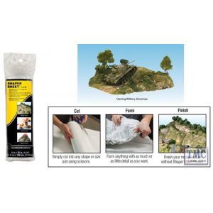 "C1178 Woodland Scenics 9"" X 72"" Shaper Sheet"