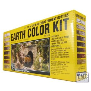 C1215 Woodland Scenics Earth Colours Kit