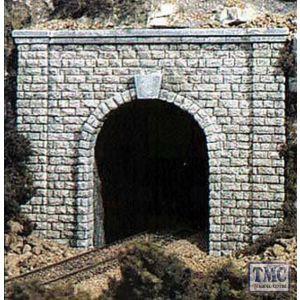 C1253 Woodland Scenics OO Gauge Cut Stone Single Tunnel Portal