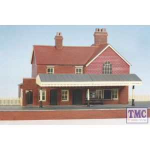 CK16 Wills Country Station Brick Built With Platform Plastic Kit Crafstman Series OO Gauge