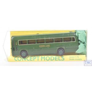 Concept Models 1:76/4mm Scale 1952 AEC Green Line RF Bus (Green)