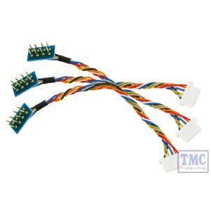 DCC-8P7JST DCC Concepts HO/OO Scale 8 Pin Harness with 7 Pin JST Decoder Plug (3)