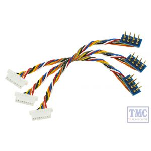 DCC-8P9JST DCC Concepts HO/OO Scale 8 Pin Harness with 9 Pin JST Decoder Plug (3)
