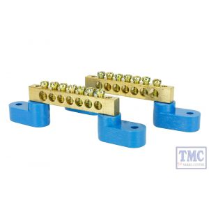 DCC-BBAR2 DCC Concepts N/HO/OO Scale Solid Brass Power Distribution Bars (2)