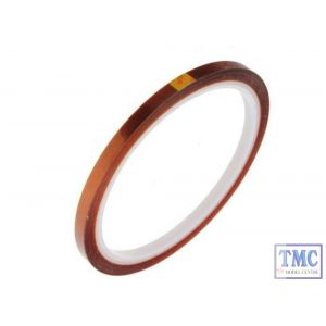 DCC-KAP5 DCC Concepts N/HO/OO Scale 5mm Kapton Tape (33m Reel)