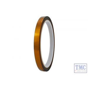 DCC-KAP8 DCC Concepts N/HO/OO Scale 8mm Kapton Tape (33m Reel)