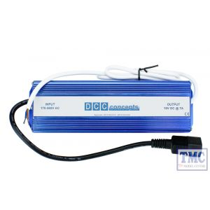 DCC-PS7 DCC Concepts N/HO/OO Scale 7 Amp 15v DC Tightly Regulated Power Supply + Mains Lead (UK)