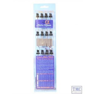 DCD-GS-MG DCC Concepts HO/OO Scale *2 Wire Modern UK 4 Aspect LED Ground Signals (12)