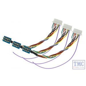 DCD-HZ218.3 DCC Concepts HO/OO Scale ZEN NEM652 8 Pin to JST Harness for ZN218 Decoder (3)